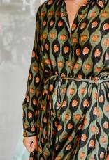 Things I Like Things I Love Olivia Long Dress Green