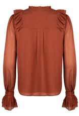 Ydence Charlie Rust Blouse