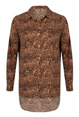 Ydence Amber leopard blouse