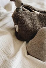 Studio Noos Studio Noos Chunky Teddy brown Pouches