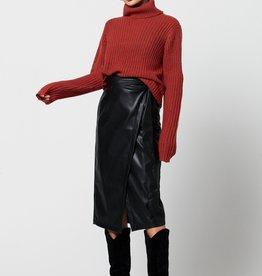 Ruth & Circle Petra PU Skirt