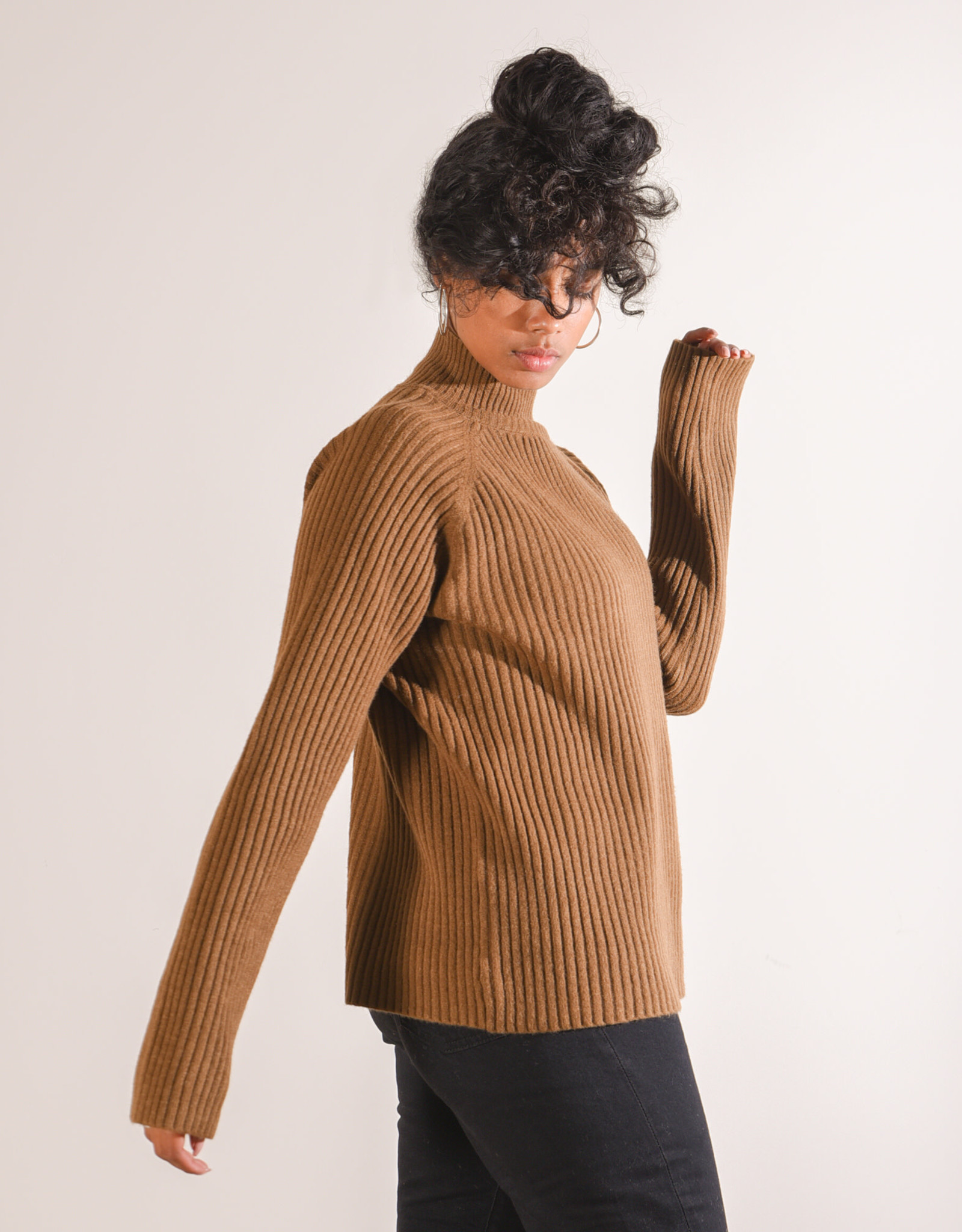 Things I Like Things I Love Gigi Sweater Brown