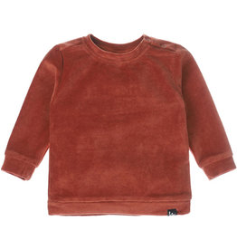 Babystyling Sweater corduroy roest