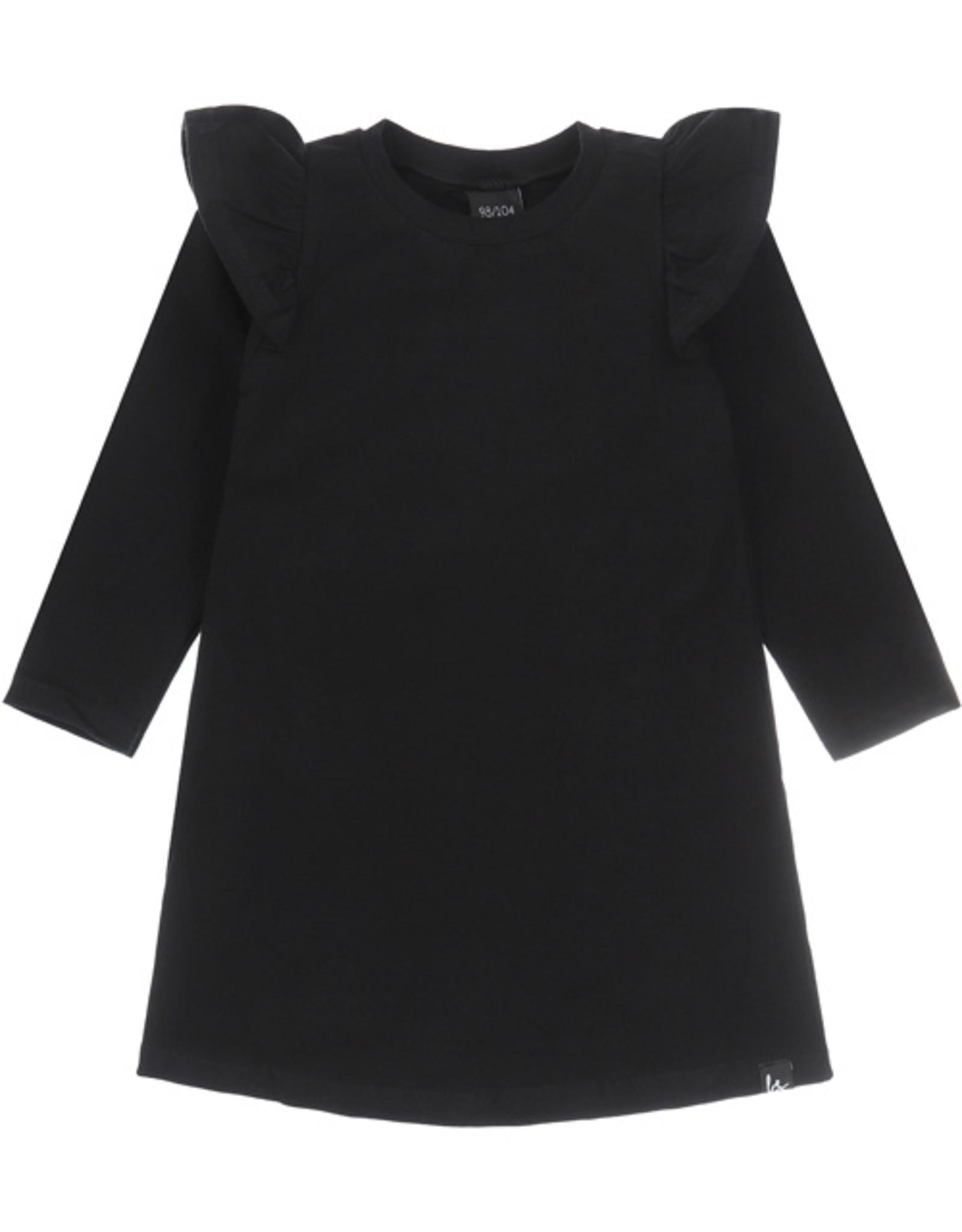 A-lijn jurkje zwart