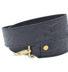 Strap black Croco