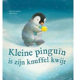 Kleine pinguin is zijn knuffel kwijt