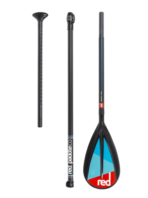 Red Paddle Co Red Paddle - Carbon 50 Nylon - 3-delige SUP Peddel