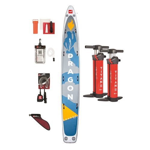Red Paddle Co Red Paddle - 22'0 Dragon - SUP Board 2021