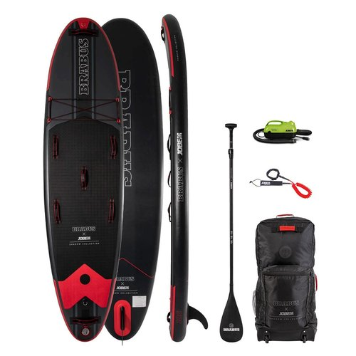 JOBE Jobe X BRABUS - Shadow 10'6 - SUP Board Set