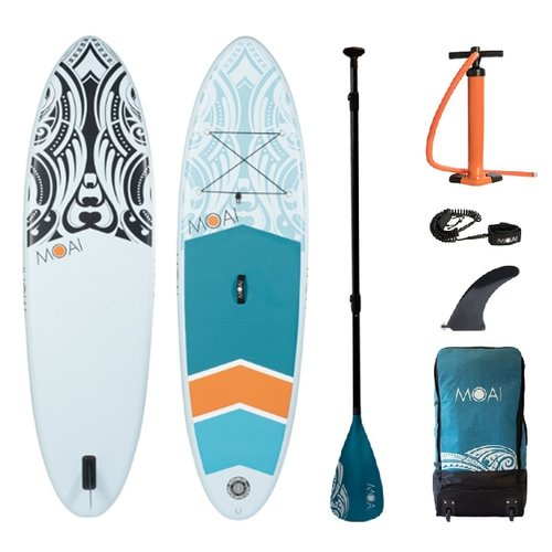 MOAI MOAI - Allround 9'5 - SUP Board Set