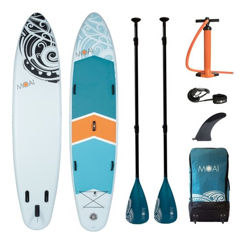 MOAI MOAI - Allround 12'4 - SUP Board Set
