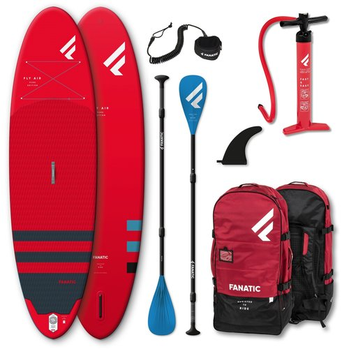 Fanatic Fanatic - Fly Air Red 10'4 - SUP Board Set