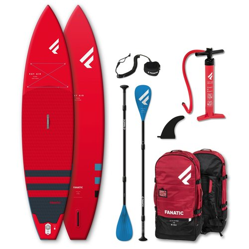 Fanatic Fanatic - Ray Air Red 11'6 - SUP Board Set