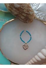 Joy Bali JOY Jamaica ring - zeeblauw