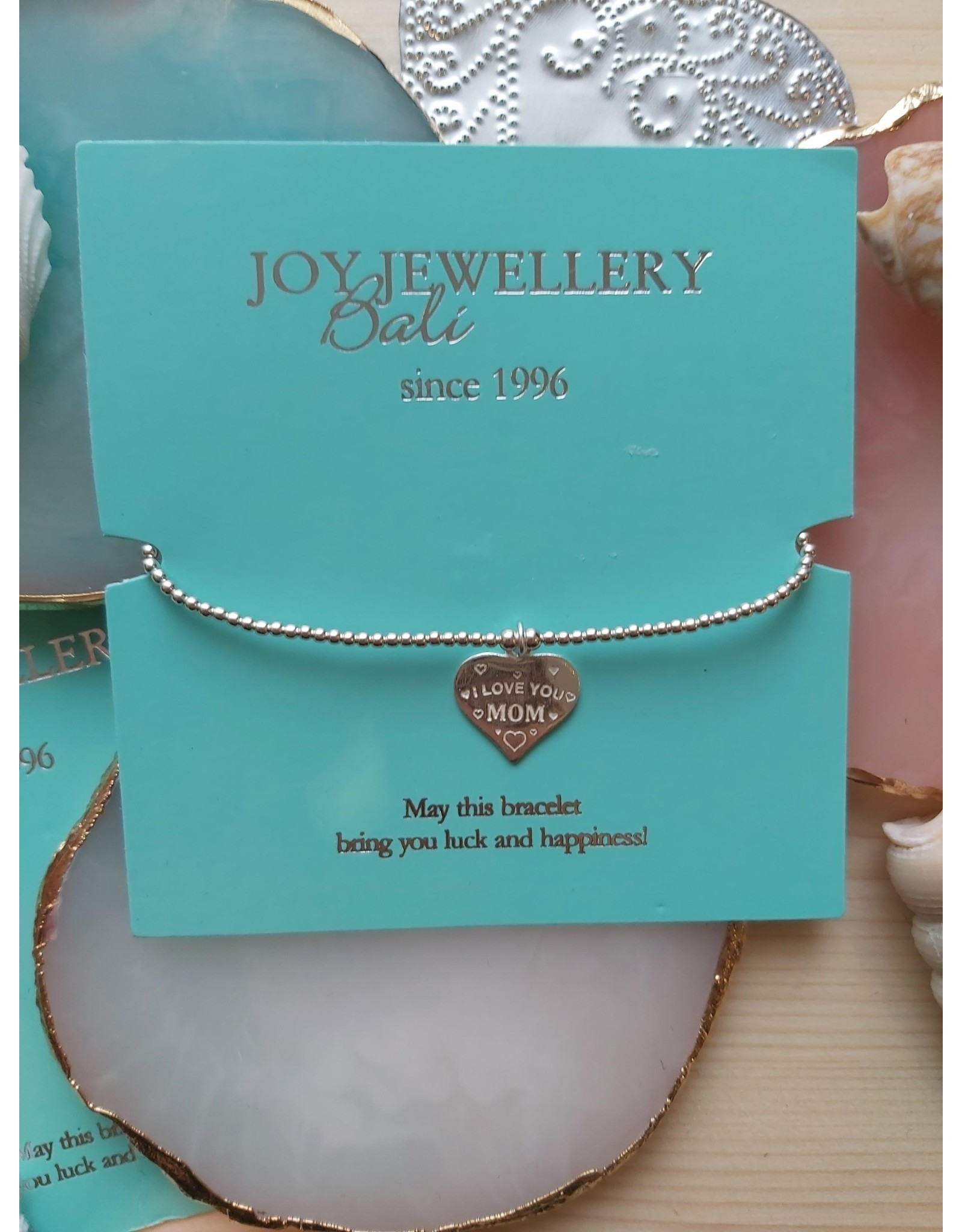 Joy Bali JOY Tiny Wish armband I love you MOM