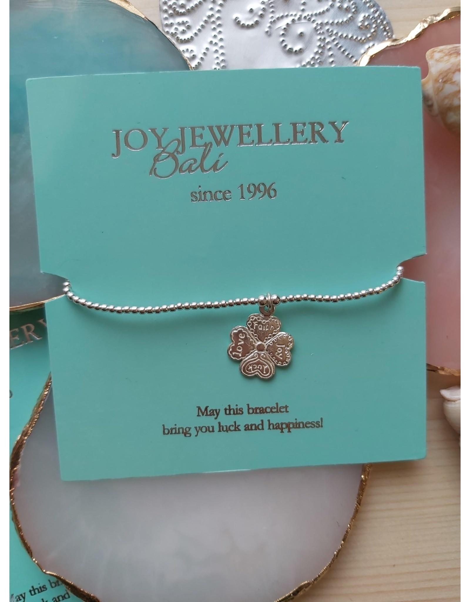 Joy Bali JOY Tiny Wish armband - Klaver