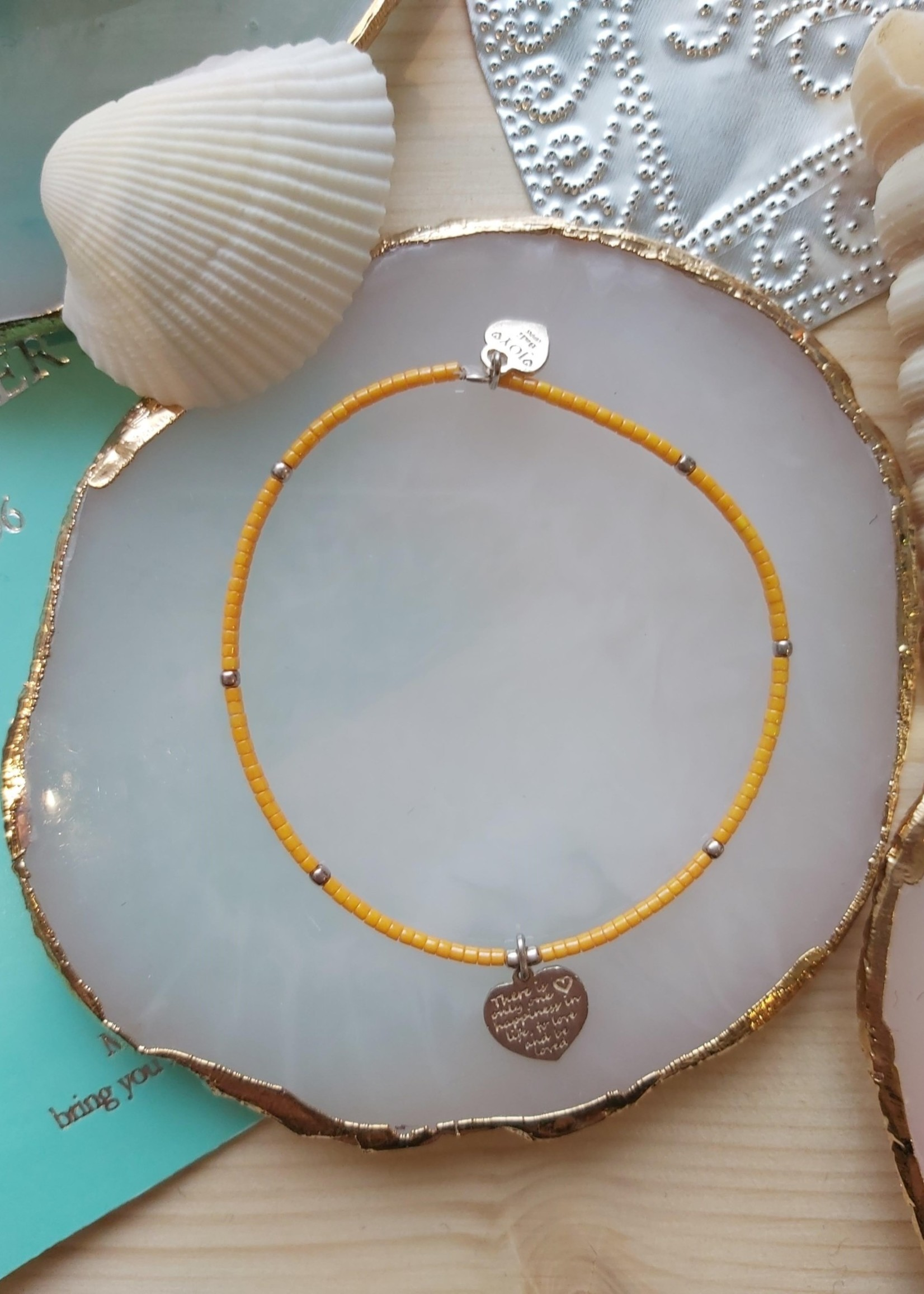 Joy Bali JOY Jamaica armband oranje