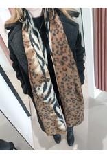 L'Avenue Sjaal zebra / leopard