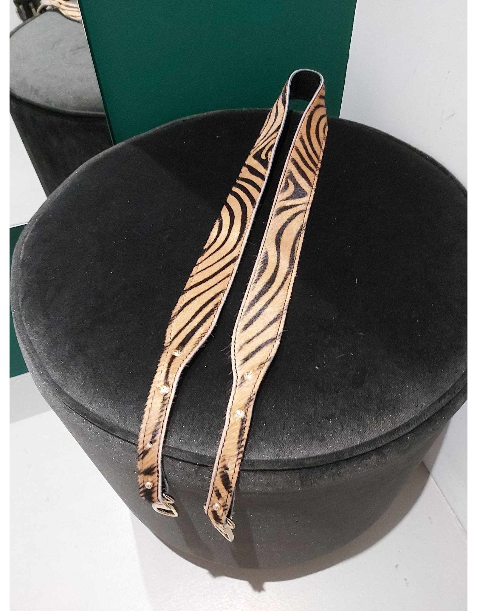 L'Avenue Tassenband zebra bruin