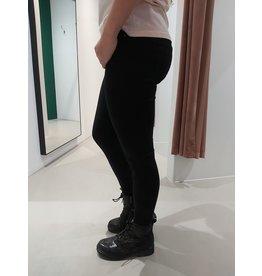 L'Avenue Stretch Jeans  - zwart - laag model