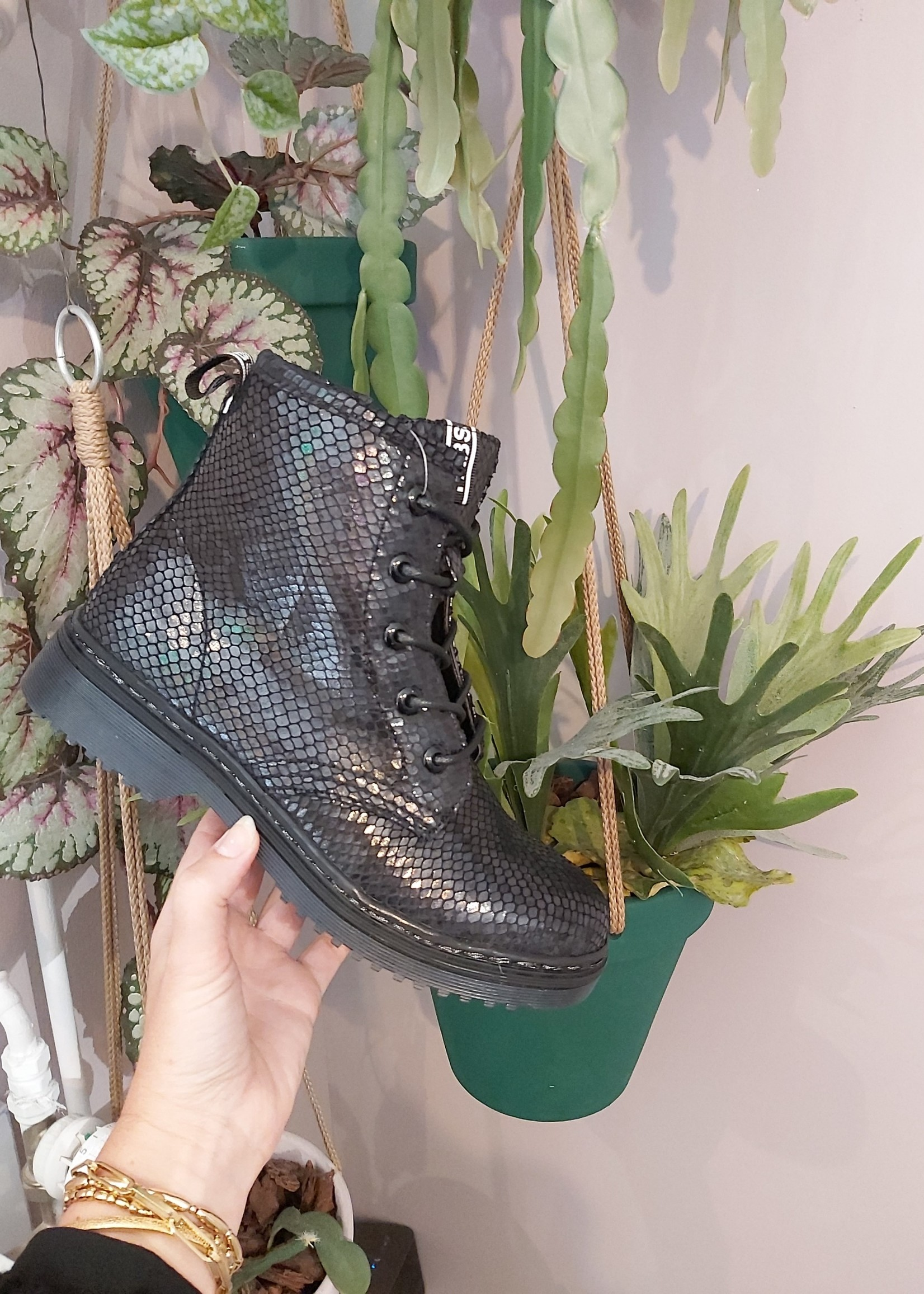 Fabs Shoes Fabs Boots - snake