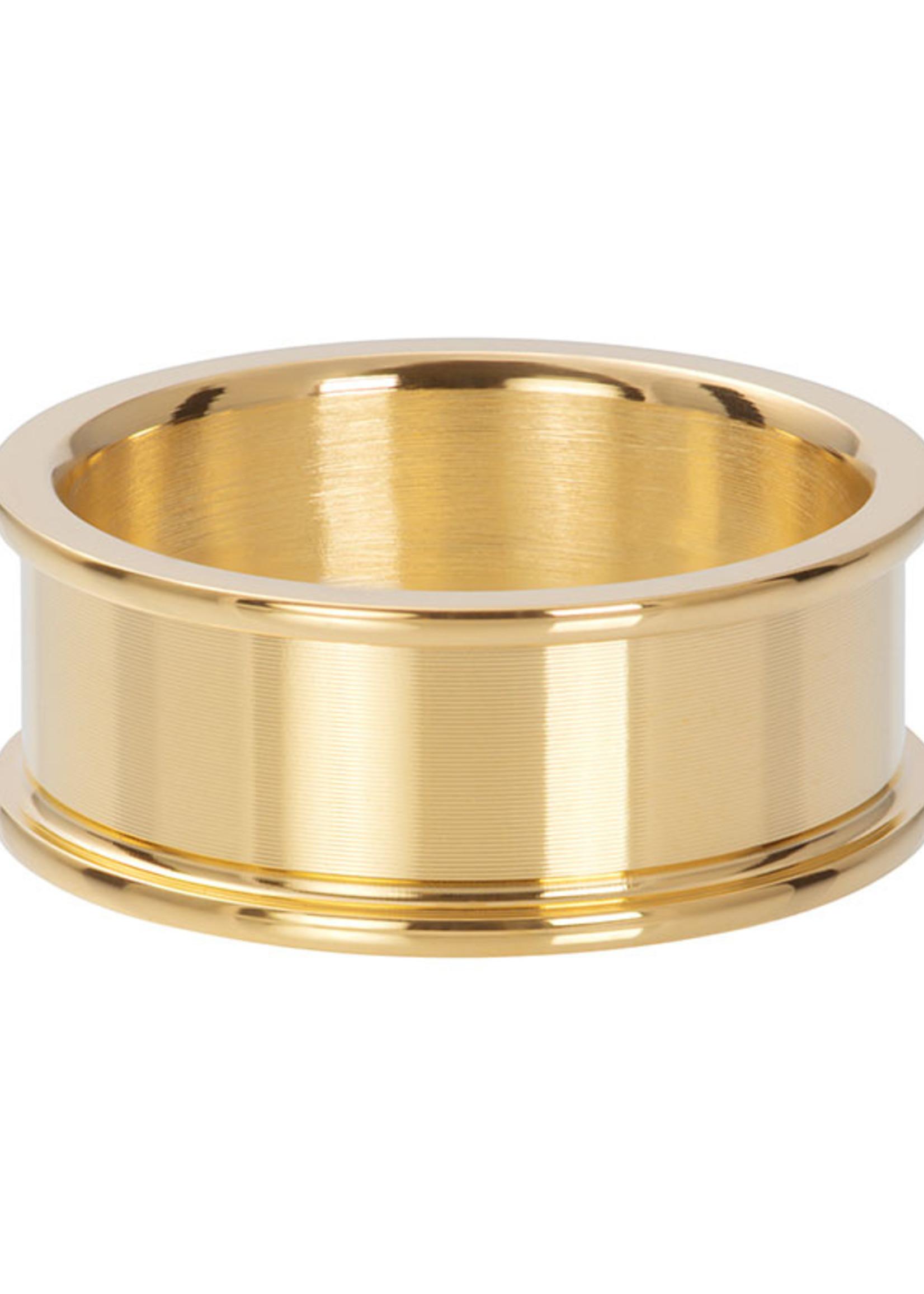 Basishuls goud 8mm