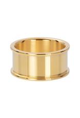 Basishuls goud 10 mm