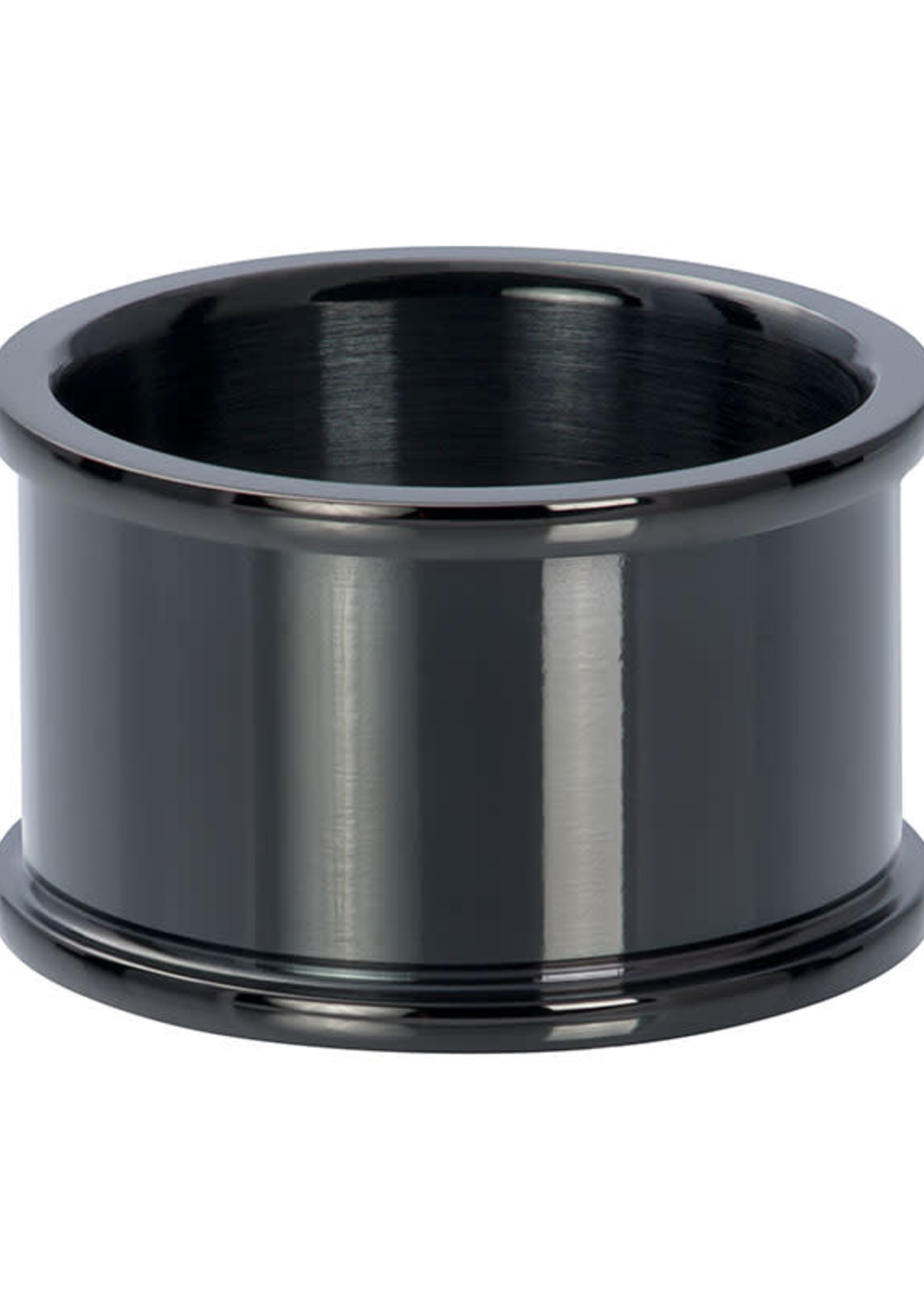 Basishuls zwart 12mm
