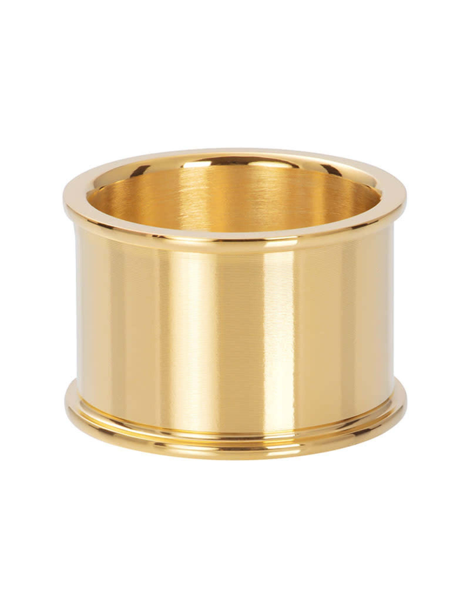 Basishuls goud 14mm