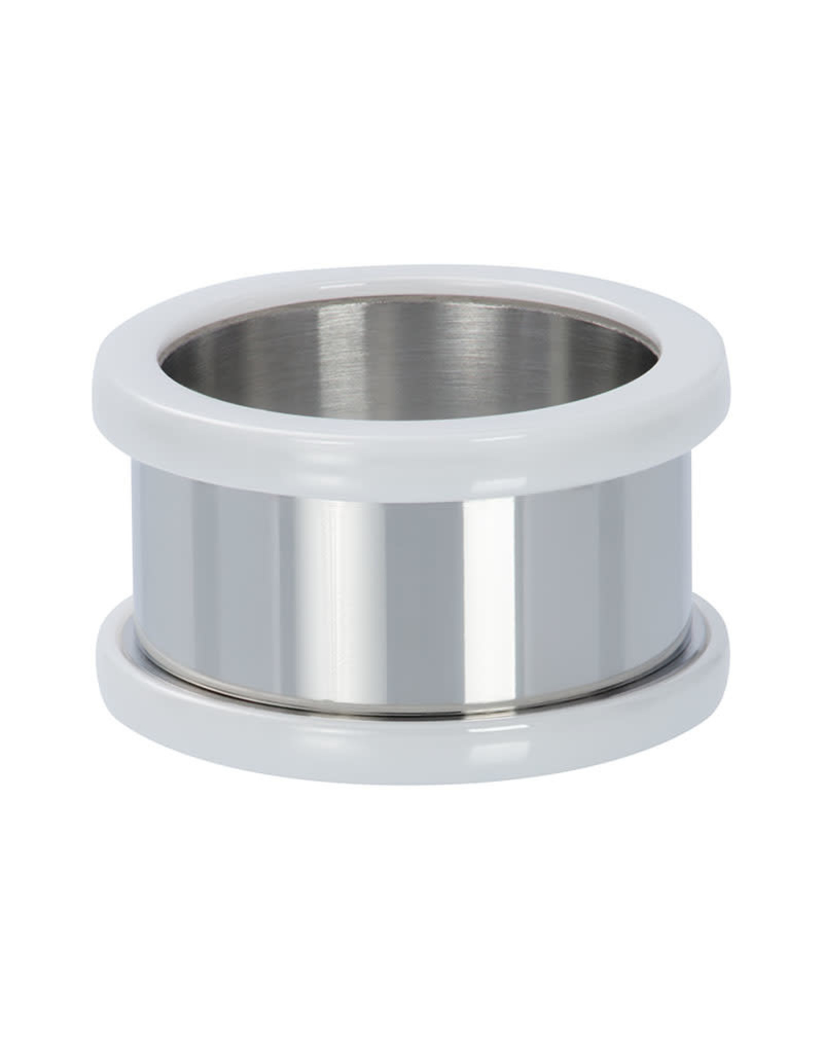Basishuls Ceramic wit 12mm