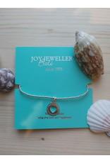 Joy Bali JOY Tiny Wish armband - Open heart