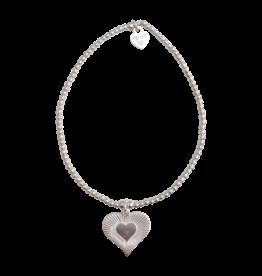 Joy Bali JOY Tiny Wish armband - Galaxy heart
