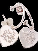Joy Bali JOY Bonita oorbellen - live laugh love