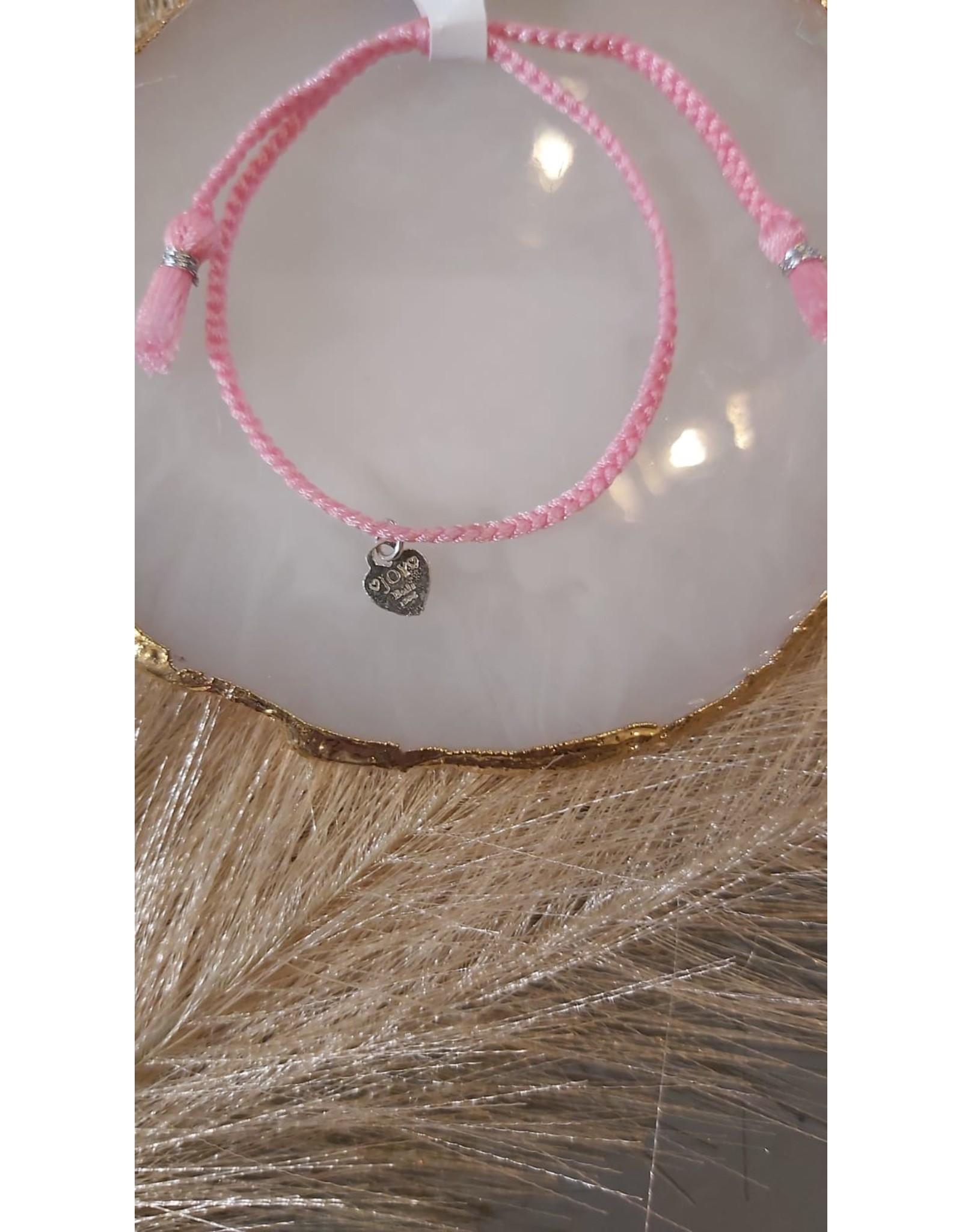 Joy Bali JOY Bali Iluh armband - oud roze