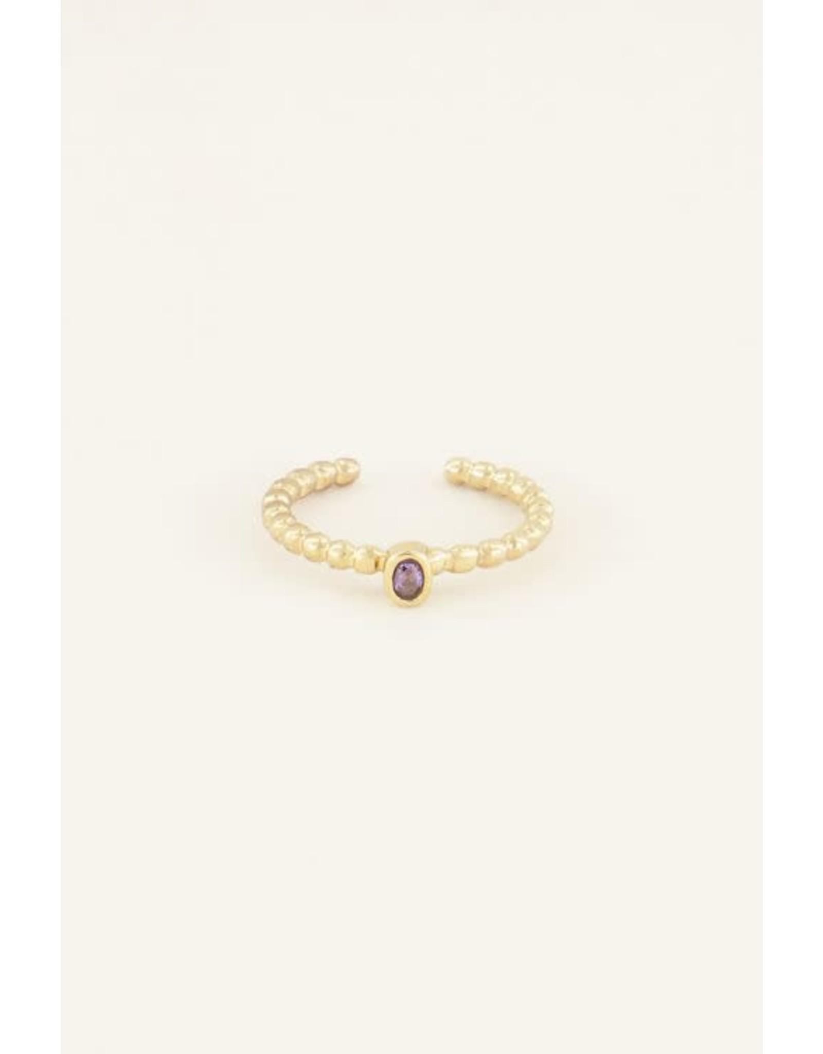 My Jewellery My Jewellery geboortesteen ring september