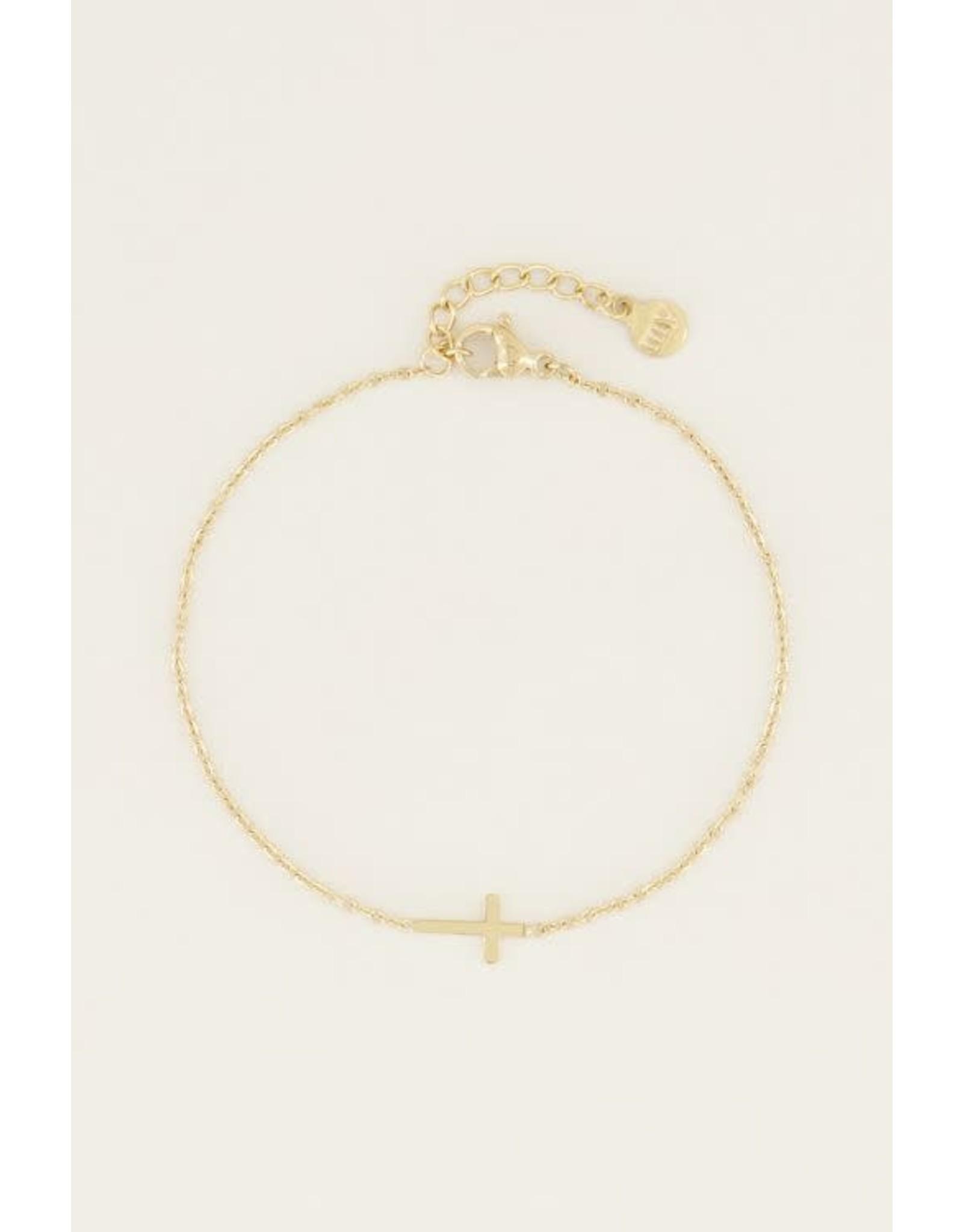 My Jewellery My Jewellery armband - klein kruisje