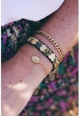 My Jewellery My Jewellery armband - vintage rose
