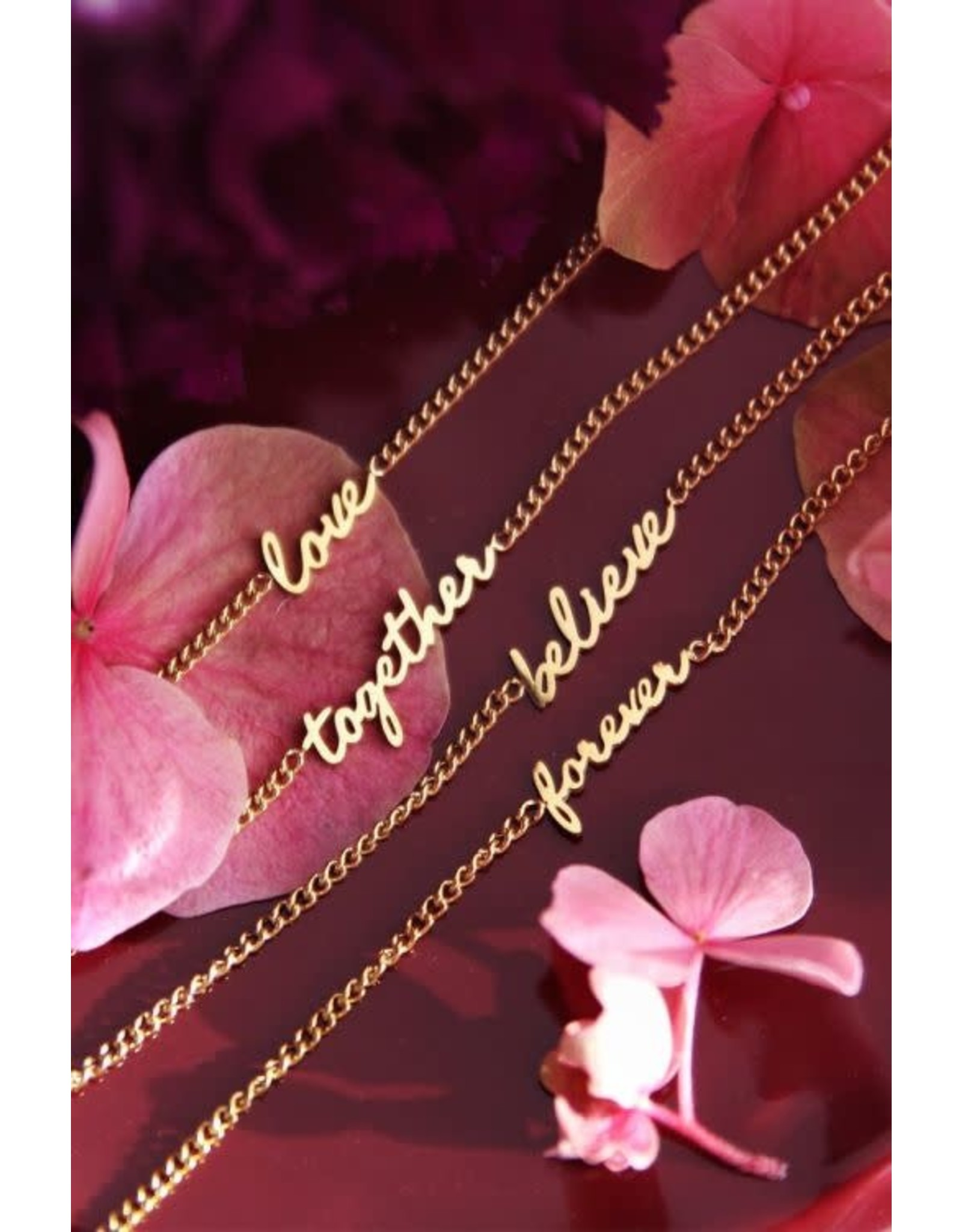 My Jewellery My jewellery armband - love
