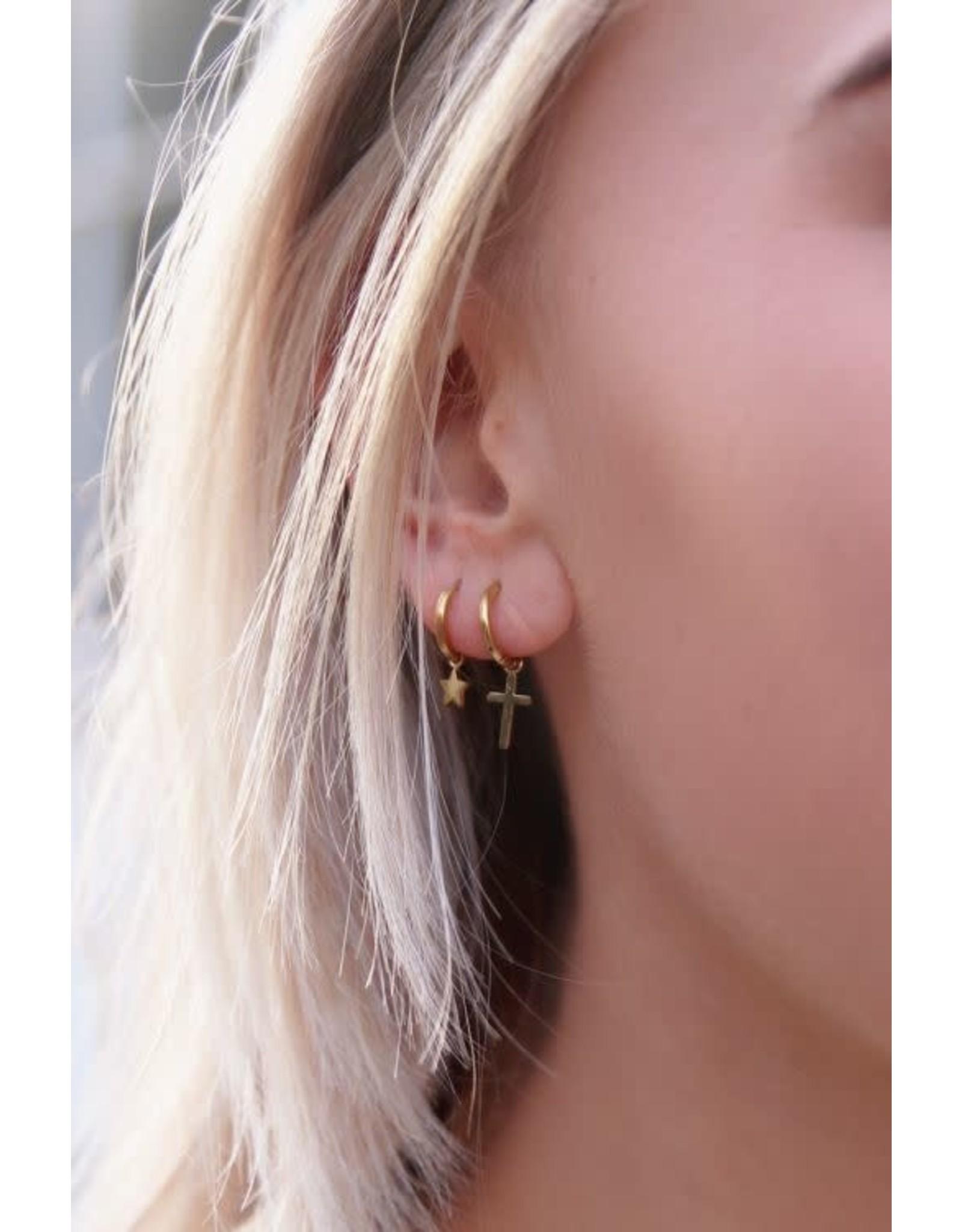 My Jewellery My Jewellery oorring met sterretje