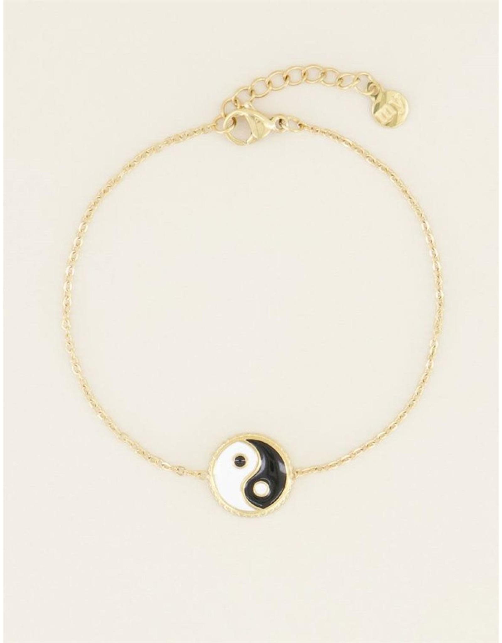 My Jewellery My Jewellery armband - ying yang
