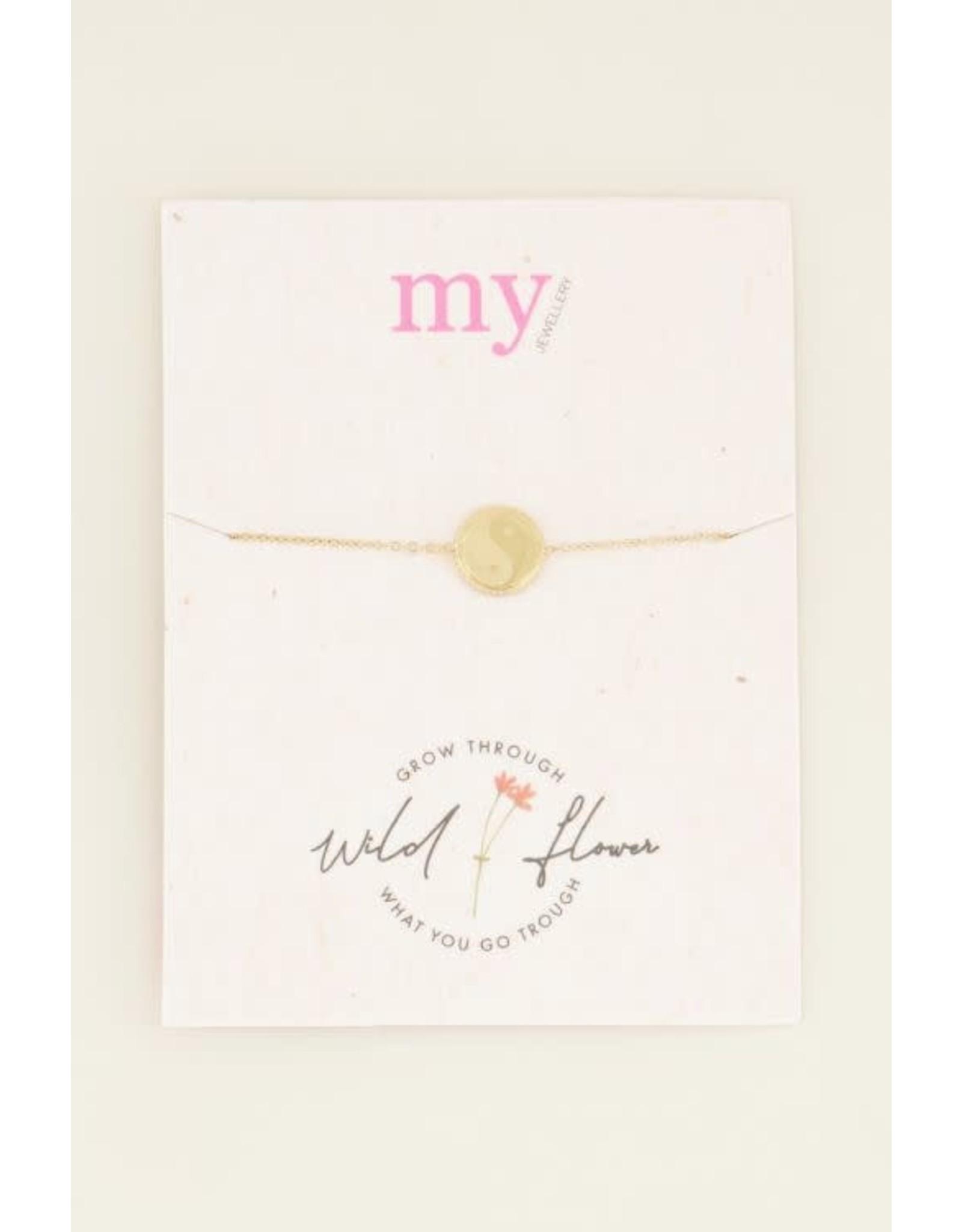 My Jewellery My Jewellery armband - Yin en Yang