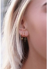 My Jewellery My Jewellery oorring met kruisje
