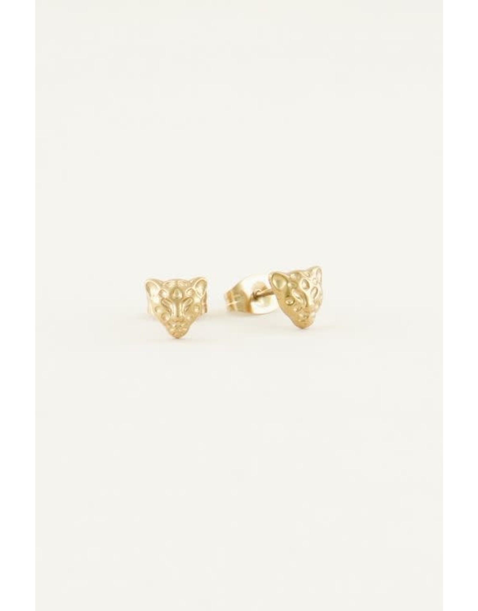 My Jewellery My Jewellery Earstuds - Luipaard