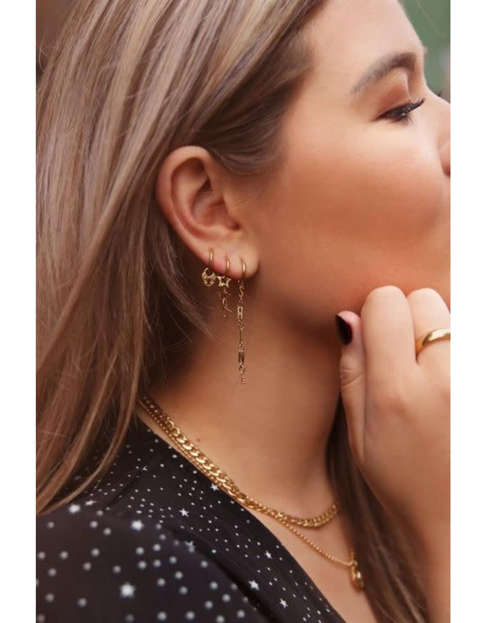 My Jewellery Oorringen sterretjes