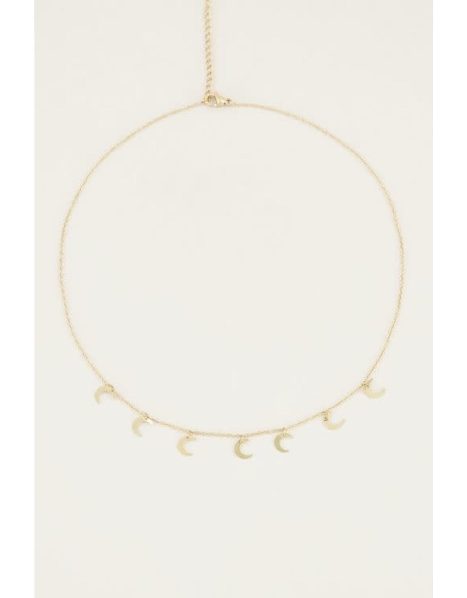 My Jewellery My Jewellery ketting maantjes