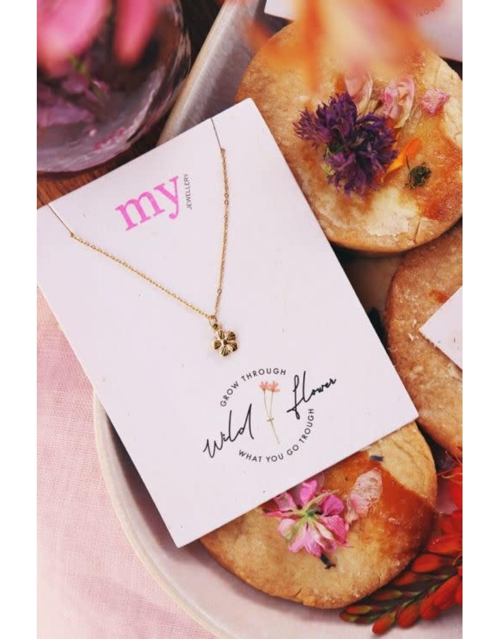 My Jewellery My Jewellery Ketting - Violet