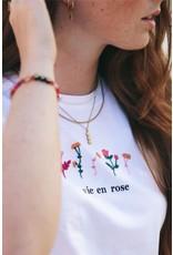 My Jewellery My Jewellery ketting - 3 bloemetjes