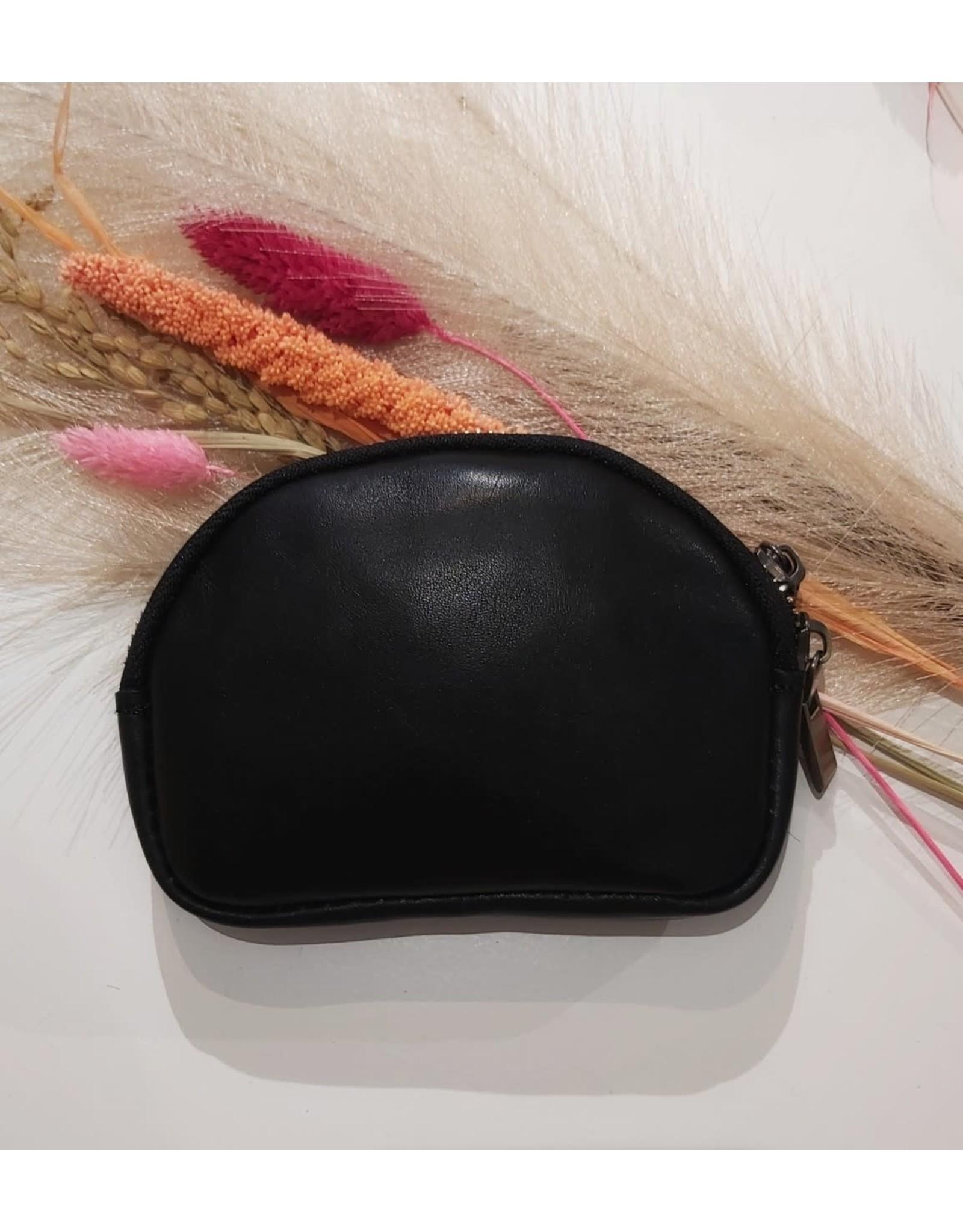 L'Avenue Mini bag panter leer