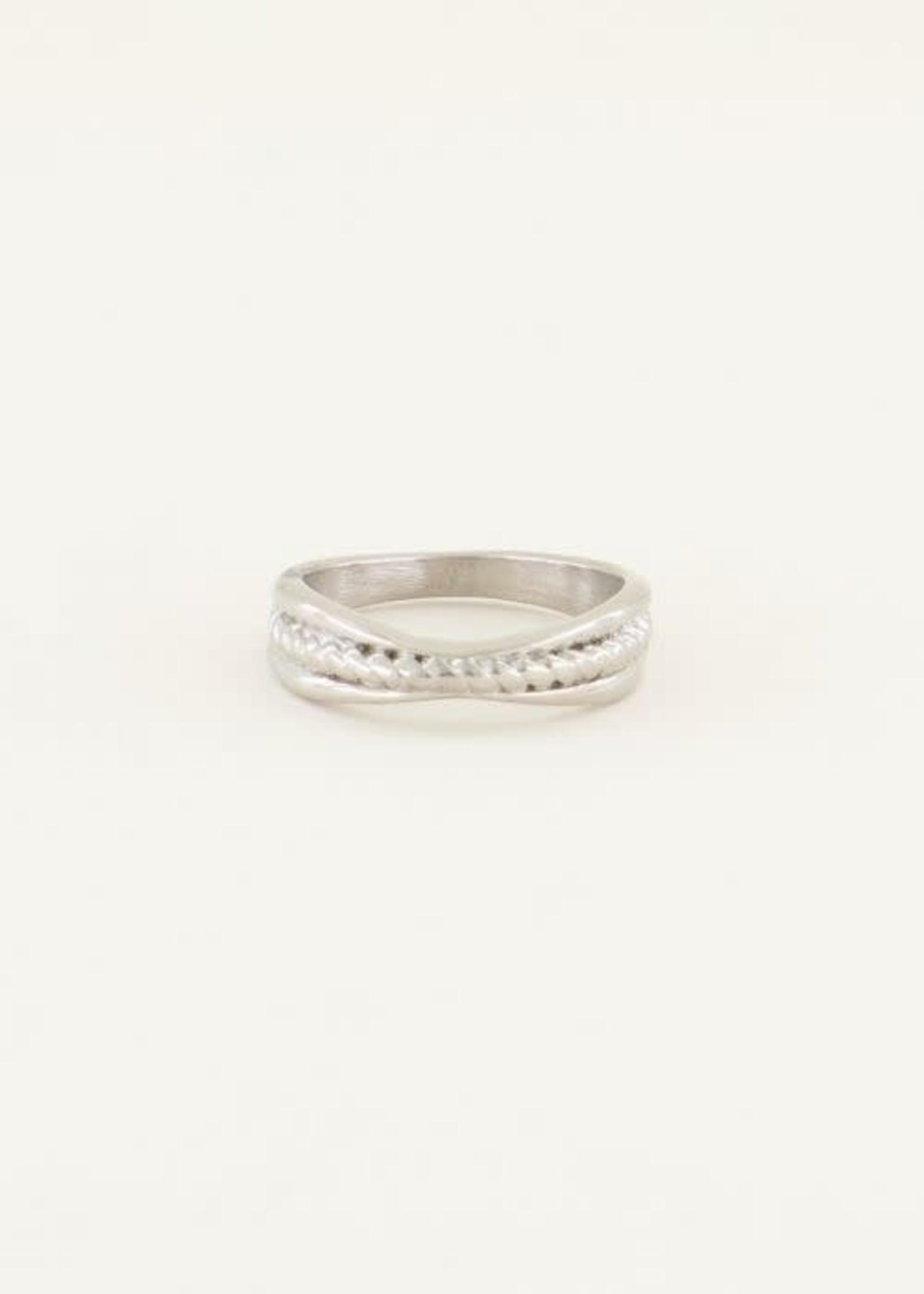 My Jewellery My Jewellery ring gedraaide band