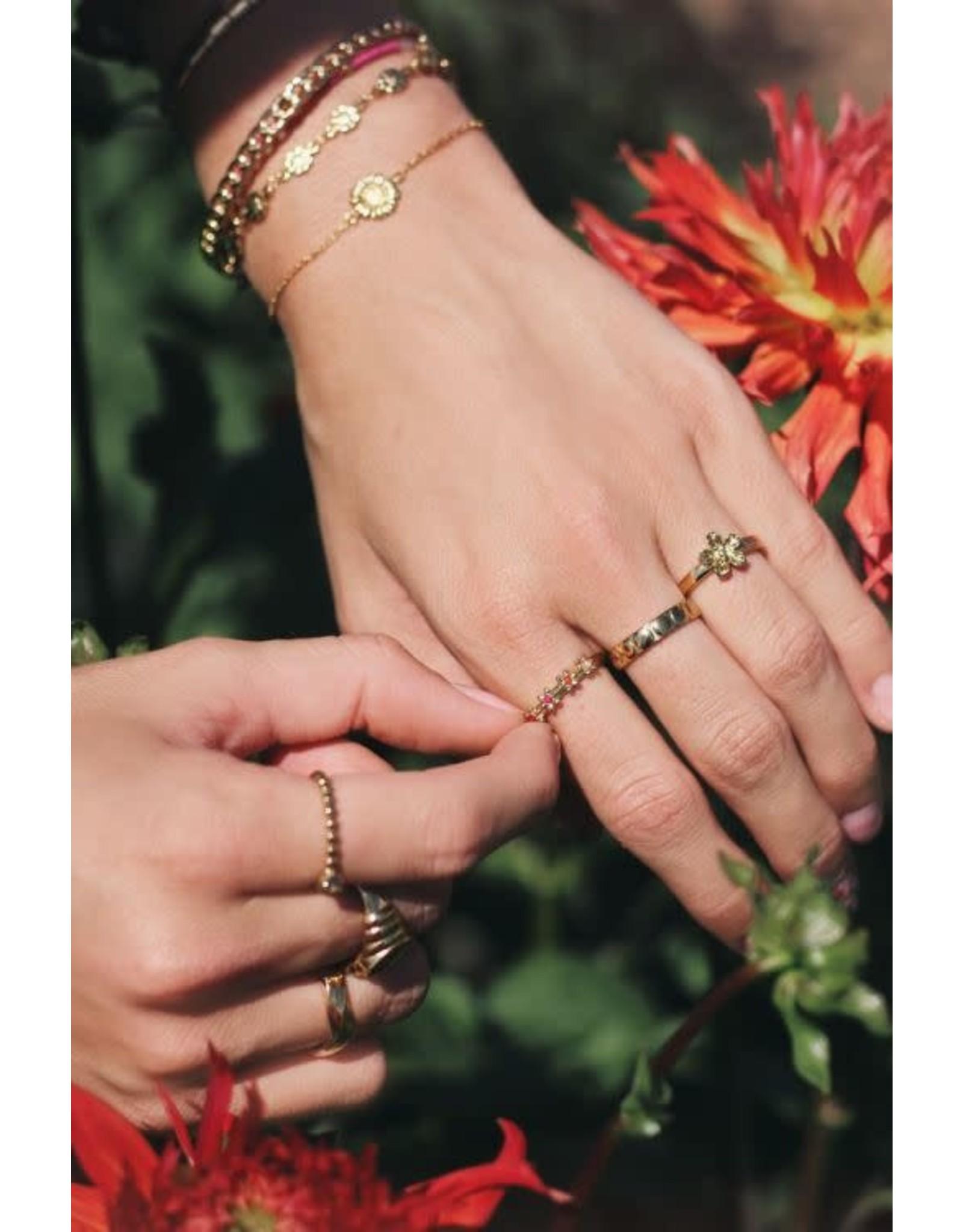 My Jewellery My Jewellery ring ovale bolletjes